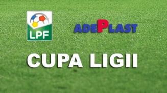 Cupa Ligii la fotbal: Incep sferturile de finala