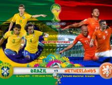 Cupa Mondiala 2014: Avancronica finalei mici: Olanda versus Brazilia