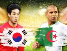 Cupa Mondiala 2014: Avancronica partidei Coreea de Sud - Algeria