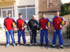 Cupa Romaniei: CSM Satu Mare, locul II la spada masculin pe echipe