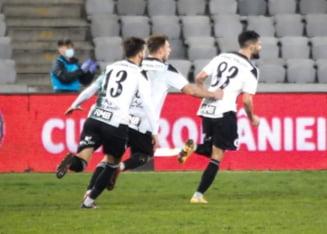 Cupa Romaniei, optimi de finala: Universitatea Cluj a dat lovitura cu UTA, calificare la pas pentru Chindia