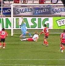Cupa UEFA: Benfica - Dinamo 1-0