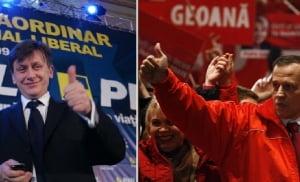 Cuplul Geoana - Antonescu, principalul aliat al lui Basescu