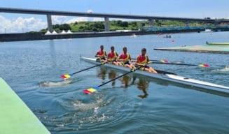 Curg medaliile la canotaj! Argint pentru România în proba de patru rame masculin. Cât de aproape au fost tricolorii de aur
