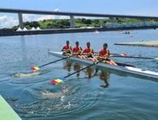 Curg medaliile la canotaj! Argint pentru Romania in proba de patru rame masculin. Cat de aproape au fost tricolorii de aur