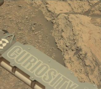 Curiosity a detectat inca o data metan pe Marte, insa NASA nu stie de unde provine acest gaz