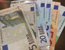 Curs euro-leu: Euro face inca un pas in fata