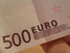 Curs euro-leu: Euro face un pas in fata, iar dolarul scade