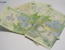 Curs euro-leu: Moneda nationala creste usor fata de euro si dolar