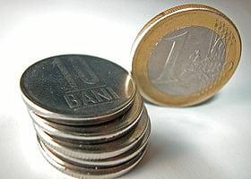 Curs record al leului - un euro = 3,4763 lei