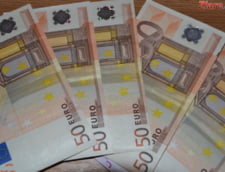 Curs valutar: Euro a ajuns la cel mai mic nivel din ultimele 4 luni
