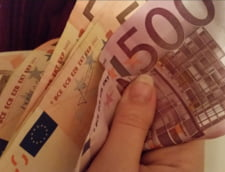 Curs valutar: Euro a mai scazut putin