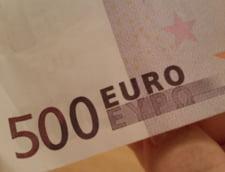Curs valutar: Euro creste destul de mult dupa masurile fiscale anuntate de Teodorovici