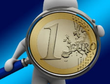 Curs valutar: Euro creste incet, dar sigur