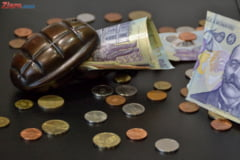Curs valutar: Euro incepe anul in crestere, aurul este pe val