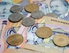 Curs valutar: Euro mai scade, dar nu sub 4,5 lei