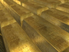 Curs valutar: Euro mai scade un pic, dar aurul nu se opreste din crestere