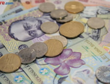 Curs valutar: Euro si dolarul scad, la sfarsit de saptamana