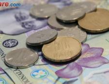 Curs valutar: Leul creste azi doar in raport cu dolarul