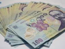 Curs valutar: Leul creste doar in fata dolarului