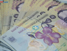 Curs valutar: Leul mai creste putin fata de euro, dar francul elvetian a sarit de 4 lei