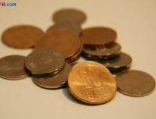 Curs valutar: O noua zi in scadere pentru euro