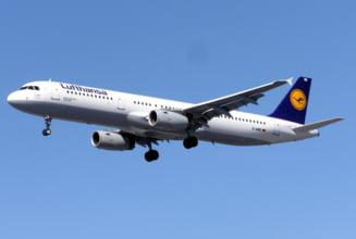 Cursa aeriana Sibiu-Munchen, amanata dupa ce avionul a lovit un stol de pasari