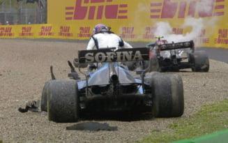 Cursa nebuna in Formula 1, pe ploaie. Clipe dificile pentru campionii de la Mercedes. Cine a fost marele invingator