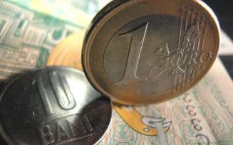 Cursul euro a coborat sub 4,2 lei, la minimul ultimelor trei luni