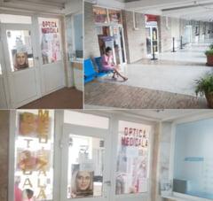 Curtea de Conturi 'forteaza' Spitalul Judetean sa organizeze licitatii pentru spatiile unde se vand pampersi, prajituri si ochelari