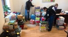 Cutia cu cadouri pentru copiii centrelor de plasament din Carei