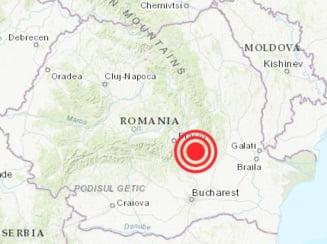 Cutremur cu magnitudinea 3,9, in judetul Buzau