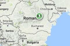 Cutremur cu magnitudinea 4,1 in Vrancea