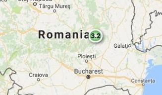 Cutremur de 3,2 grade in Buzau