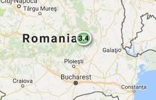 Cutremur de 3,4 grade in Buzau