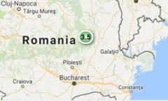 Cutremur de 3,5 grade in Vrancea