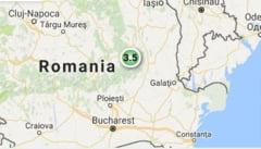 Cutremur de 3,5 in Vrancea