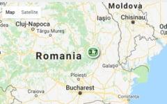 Cutremur de 3,7 grade in judetul Vrancea