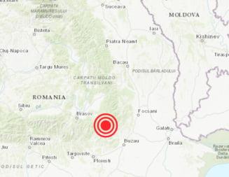 Cutremur de 4,1 grade in Vrancea. L-ati simtit?