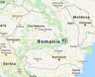 Cutremur de 4,2 grade in Vrancea UPDATE - Seismologii l-au revizuit la 4,1