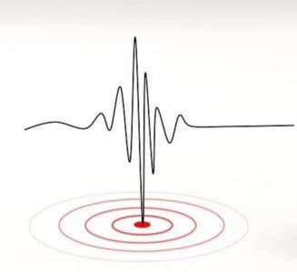Cutremur de 4,3 grade in Marea Neagra, la 189 de kilometri de Constanta