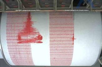 Cutremur de 5,5 grade in Vrancea. Replica de 2,7 grade (Video)