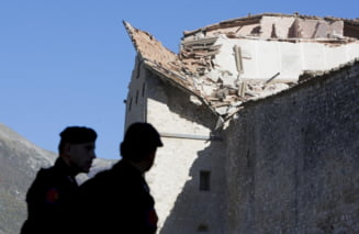 Cutremur devastator in Italia: Un roman a fost gasit mort - UPDATE