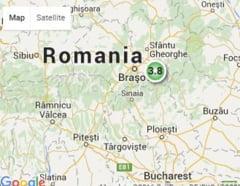 Cutremur in Brasov
