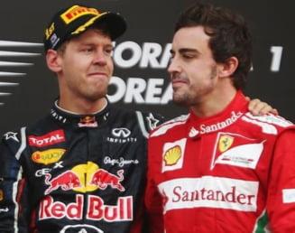 Cutremur in Formula 1: Vettel pleaca de la Red Bull, Alonso o paraseste pe Ferrari