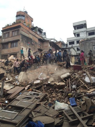 Cutremur in Nepal: Alpinistul roman Alex Gavan, surprins pe Everest