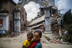 Cutremur in Nepal: Un sat a fost sters de pe fata pamantului in doar cateva secunde