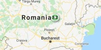 Cutremur in judetul Buzau