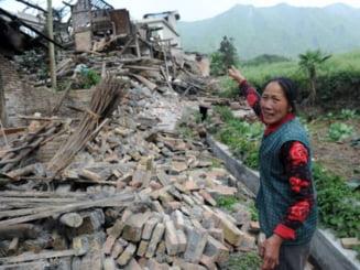 Cutremur puternic in China: Zeci de morti, sute de raniti - Update