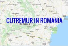 Cutremur semnificativ, in Romania, in aceasta noapte. Al doilea in mai putin de 24 de ore